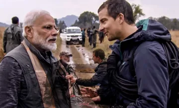 Bear Grylls Teaches PM Narendra Modi To Fight A Tiger In New 4-Minute 'Man vs Wild' Promo
