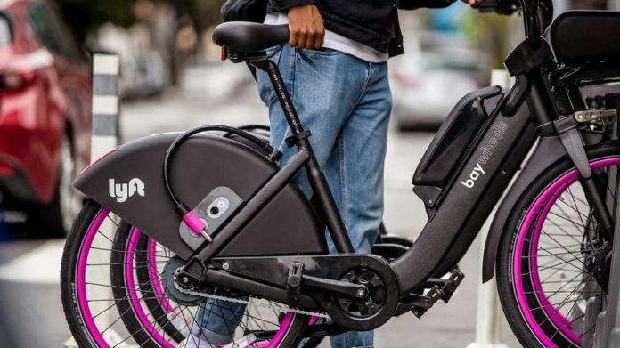 One of Lyft's freshly debuted e-bikes just caught fire
