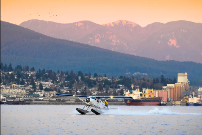 Vancouver-based airline that operates seaplanes